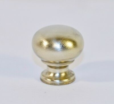 Vintage Solid Brass Knob Drawer Cabinet Cupboard Pull Handle Round