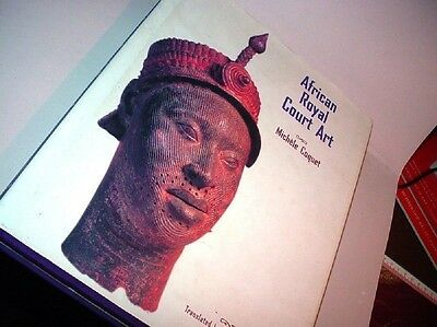 African Royal Court Art by Michele Coquet 1998 HC/DJ