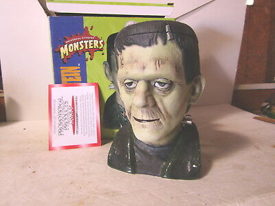 Frankenstein Character Stein CS323 Signed By  Budweiser New In Box