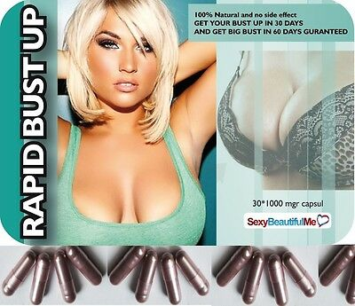 2Pack Of Rapid Bust Up Pill-Fuller,firmer,bigger&beautiful Breast-30Days Result