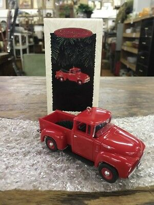 1995,Hallmark,1956 Ford,All American Trucks,Christmas,Keepsake, Ornament