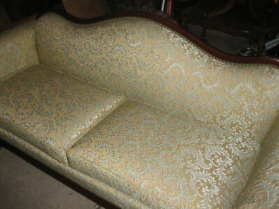 Vintage couch sofa settee rich carvings no stains, no fading, no odors, no rips