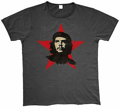 Che Guevara - Red Star - Official Unisex Charcoal T-Shirt
