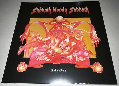 Black Sabbath Same Lp 180g Vinyl 2017 Splatter Coloured