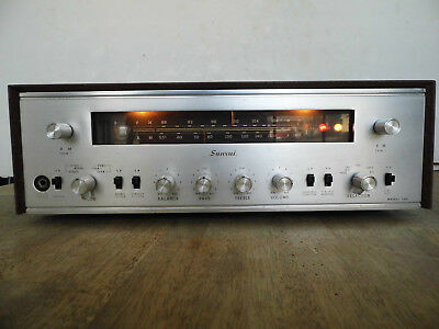 Vintage Sansui Model 500 Tube Stereo Receiver FOR PARTS REPAIR