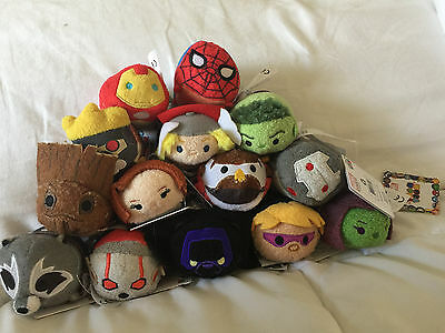 Disney Marvel Adventures Tsum Tsums 14 Characters