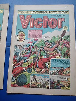 New Zealand Military Forces Ww2  Cover Story In Victor Comic  8/2/1986