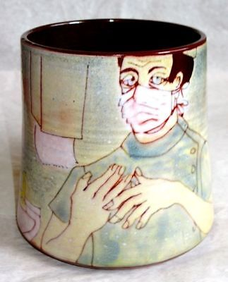 Chelsea Pottery Surgeon Mug, Very Large, Hand Made England