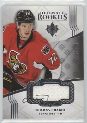 2016-17 Collection Silver Jersey Memorabilia #108 Ultimate Rookies Thomas Chabot