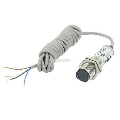 CDD-11N Cylindrical Type Photoelectric Sensor Switch DC 12-24V Gray 2.7cmx 7.2cm