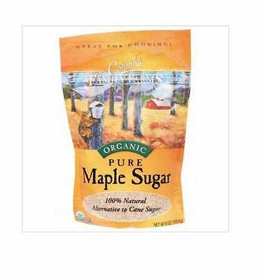 12 x 170g COOMBS FAMILY FARMS Maple Sugar ( 100% Pure ) 2.04kg