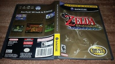 The Legend Of Zelda Wind Waker Plc Nintendo Gamecube Ex+Nm Condition Complete!
