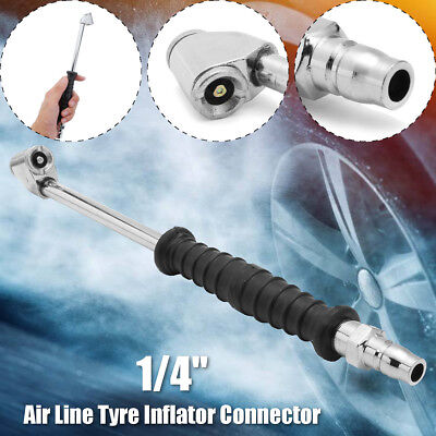 """Inlet 1/4"""" BSP Bike Car Tyre Pump PCL CO3A03 Air Line Tyre Inflator Connector"""