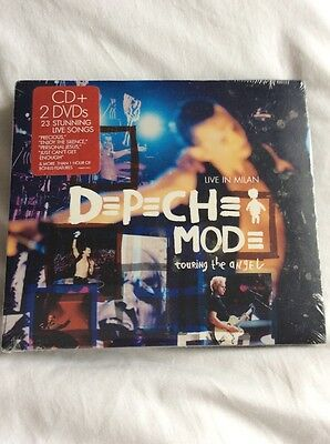 Depeche Mode Touring The Angel Live In Milan New & Sealed Cd & 2 DVD Set