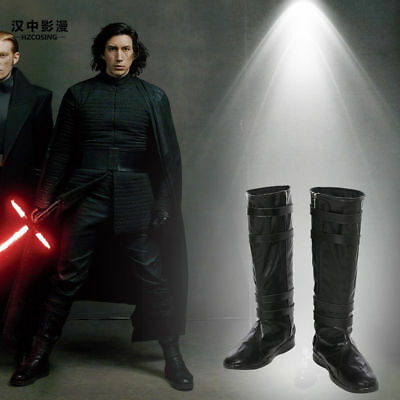HZYM Star Wars The Last Jedi Kylo Ren Cosplay Boots Shoes Customize