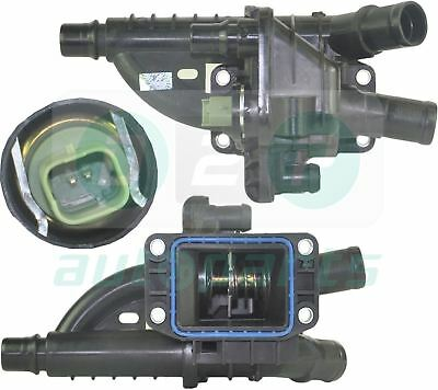 Thermostat With Housing + Sensor For Peugeot 207 208 308 508 2008 3008 1.6 Hdi