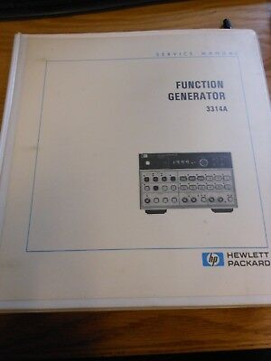 hp agilent 3325a synthesizer function generator ops service manual rh picclick co uk hp 3314a function generator service manual hp 3312a service manual