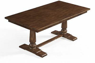 Dining Table Kitchen Large Family Farmhouse Style Decoration Gathering
