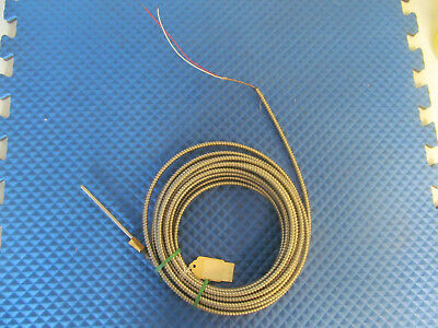"New Universal Dynamics Thermocouple 11277 Tip=6"" Lead=30' Type J L18 1 Free Ship"