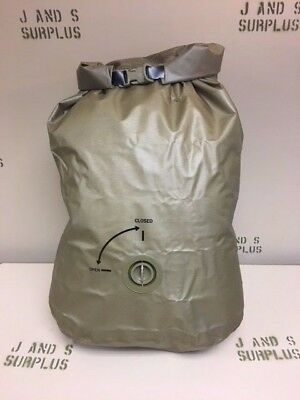 NEW USGI MOLLE II WATERPROOF PACK LINER LARGE Camping canoeing Camp Dry Bag Tan