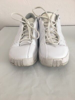 0f2f63acbf4 ... Nike Air Jordan Team Elite 2 TE2 Basketball Shoes White and gray silver  Size ...