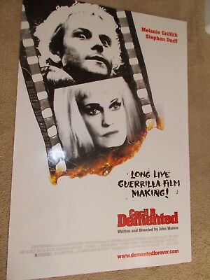 Cecil B. Demented Original John Waters Advance Version Movie Poster Rolled