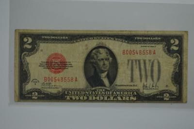 $2.00 Legal Tender Note. Series of 1928-B, Fr-1503 Lot 140