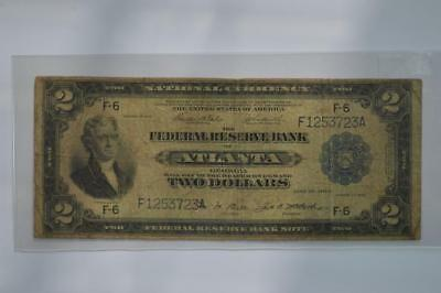 $2.00 Federal Reserve Bank Note Lot 124
