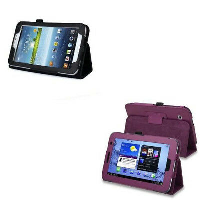 Leather Case with Stand For Samsung Galaxy Tab 2/3