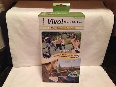 Sima VHD-KT Vivo Video Streaming Kit for Camcorders Model #VHD-KT