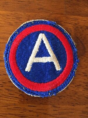 Third Army WWII Cloth Shoulder Patch Vintage Patch