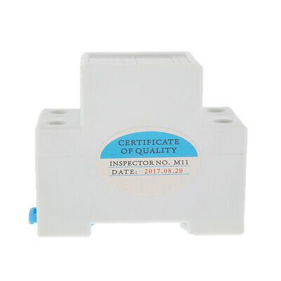 LCD Digital 50Hz 20(80)A Power Energy Meter Single Phase 2-Wire DIN Rail