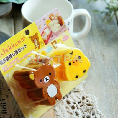 Mixed Boiled Egg Sushi Rice Mold Sandwich Cutter Maker Modelling Bento Tools WL