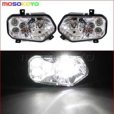 LED Conversion Headlight Kit For 2012-2013 Sportsman Polaris RZR 800 4 XP 900