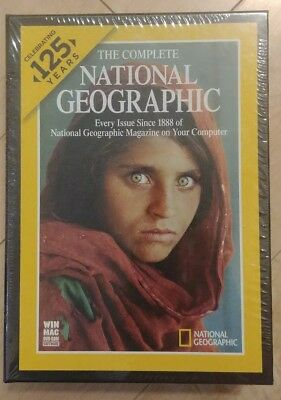 National Geographic 125 Years Complete Collection (1888 - 2012)  New and Sealed