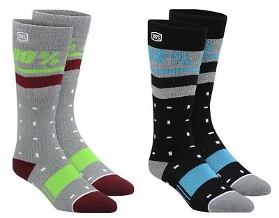 100% Womens Motorcycle ATV Groove Socks All Colors
