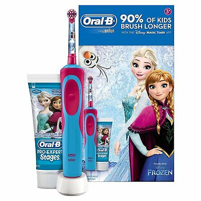 Oral-B Stages Power Kids Electric Toothbrush and Toothpaste Gift Set - Frozen