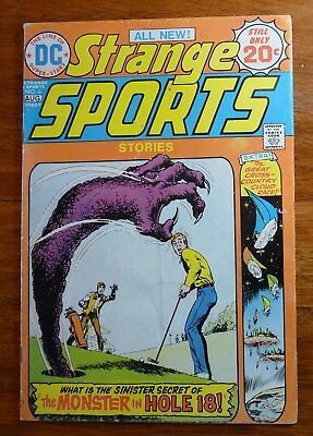 Strange Sports Vol 2 No 6 August 1974 DC Comics VF+
