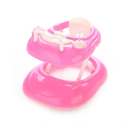 1 X Plastic Baby Walker New Doll's House For Barbie Dollhouse 5cm*7cm*6cm HK