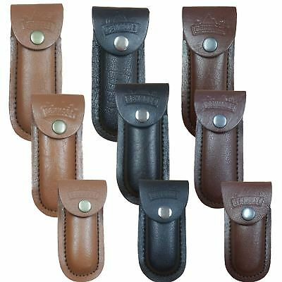 Authentic Benmore Quality Leather Tool Belt Pouches - Sheaths Multi Tools Knives