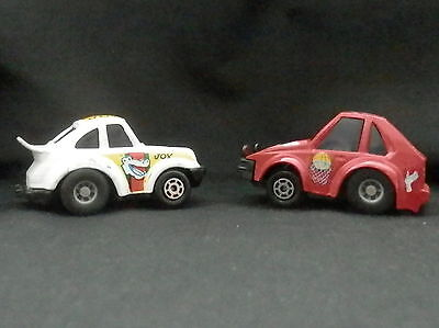 Vintage Asst Lot of (2) YatmingToy Cars Beetle Bug