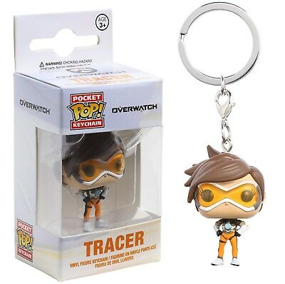 Funko Pocket Pop Keychain: Overwatch - Tracer Vinyl Figure Keychain Item #14312
