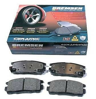 CERAMIC Front Brake Pads SET Jeep Commander XK 2006-2010 BBP//XK//003A