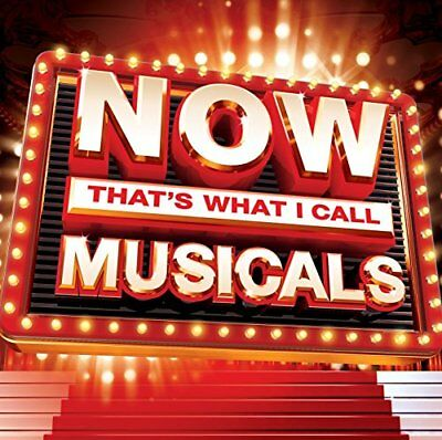Various Artists / Now That's What I Call Musicals (2 CD) *NEW* CD