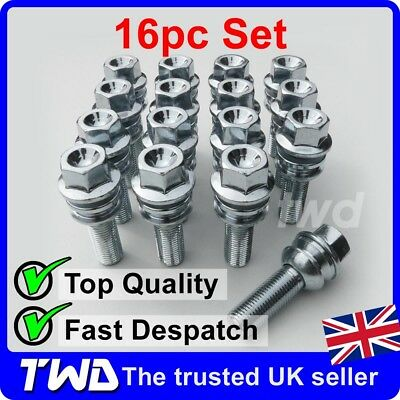 4PS45 4 x EXTRA LONG 45MM ALLOY WHEEL BOLTS FOR PORSCHE 911 996 997 SPACERS