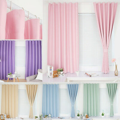 Pleated Curtains Blinds Shade Window Drape for Bedroom Living Room Balcony Patio
