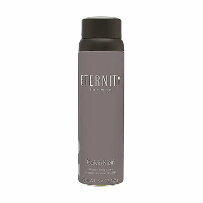 Eternity by Calvin Klein for Men 5.4 oz All Over Body Spray Brand New