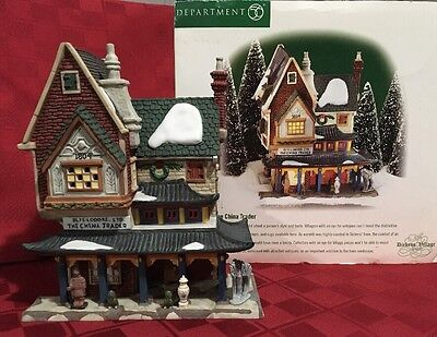 Department 56 The Heritage Village Collection-The Dickens' Series (China Trader)
