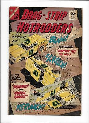 """Drag-Strip Hotrodders #8 [1966 Gd] """"another Way To Win!"""""""