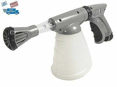 Snow Spray Foaming Wash System For Car Wash Soap Connect Garden Hose Cannon Jet